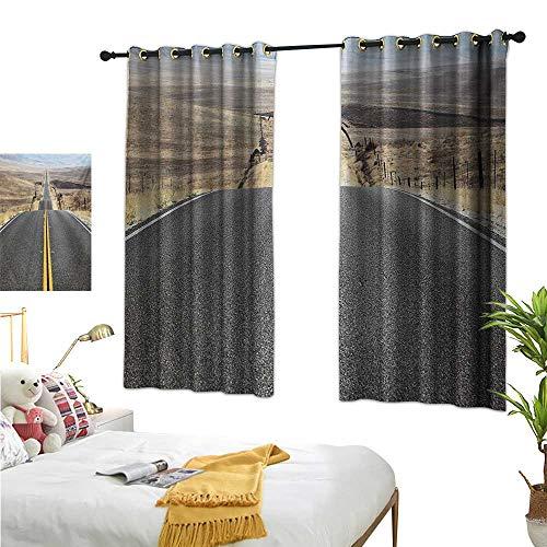 Superlucky Customized Curtains,Landscape,55