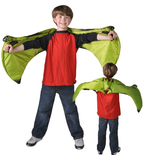 Kid Raptor Costume (Pteranodon Dinosaur Plush Wings Kids Size: Fits Most with 47 inch Wingspan)