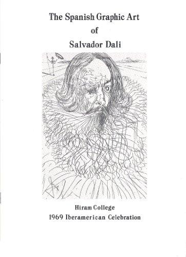 The Spanish Graphic Art of Salvador Dali Hiram College 1969 Iberamerican Celebration