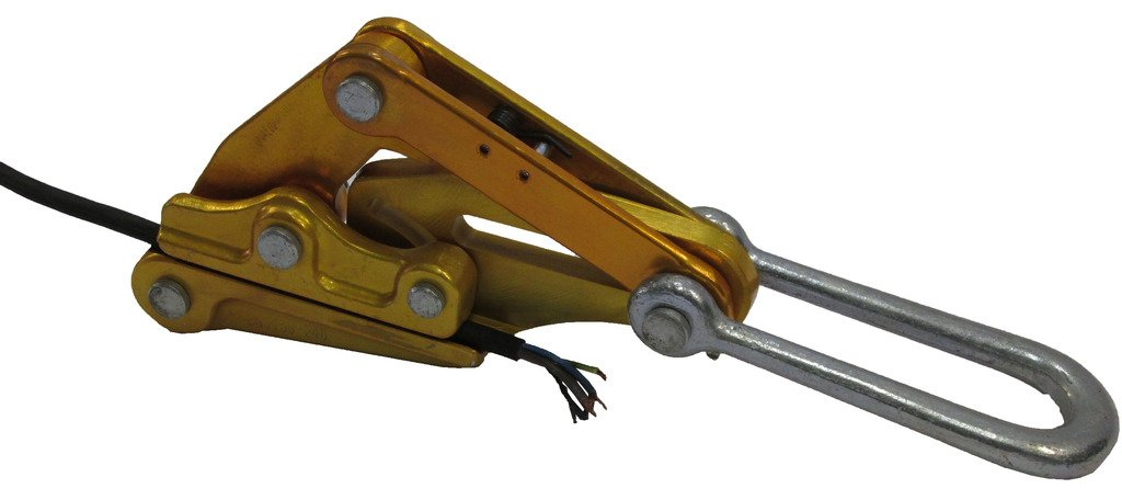 Cable Grip Rope Puller, Havens Grip Wire Gripper,Steel Rope Jaw hand puller-Fits Cable Diameters 5//32-7//8 inches,Max Load 2T(4408Lbs )