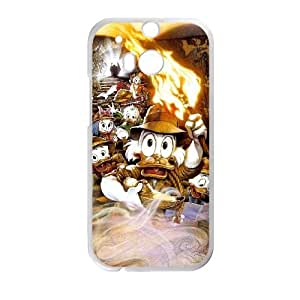 DuckTales The Movie Treasure of the Lost Lamp HTC One M8 Cell Phone Case White Qjyzp