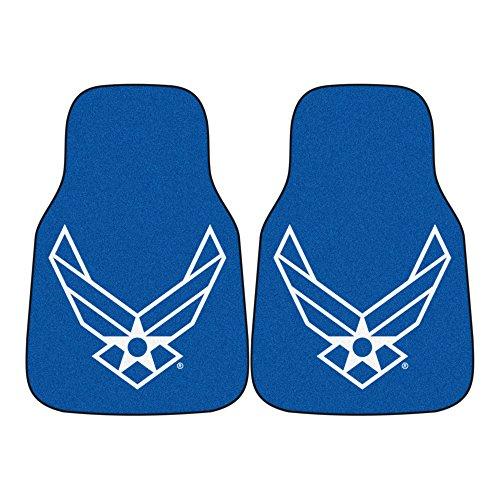 Fanmats Military  'Air Force' Nylon Face Carpet Car (Anaheim Vinyl Car Mats)