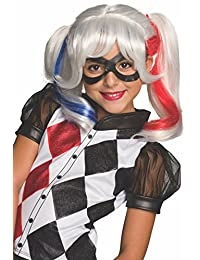 Rubies Costume Girls DC Super Hero Harley Quinn Wig