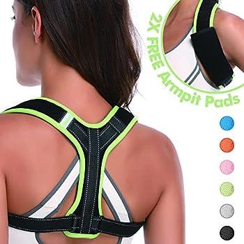 Amazon com: Back Brace Posture Corrector for Clavicle