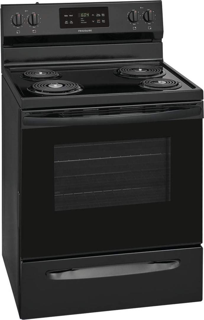 "Frigidaire FFEF3016VB 30"" Electric Freestanding Range Coil top Self Clean"