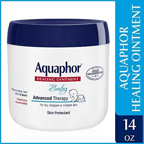 51RrdHPyumL. AC - Aquaphor Baby Healing Ointment - Advance Therapy For Diaper Rash, Chapped Cheeks And Minor Scrapes - 14 Oz Jar