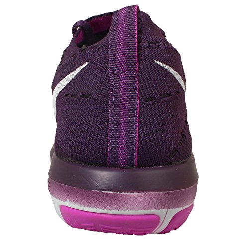 Zapatillas De Entrenamiento Nike Para Mujer Free Transform Flyknit Grand Purple / White-hyper Violet-total Crimson