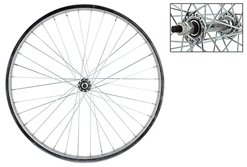 Wheel Master Front Bicycle Wheel 24 x 1.75 36H, Steel, Bolt On, Silver by WheelMaster