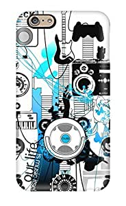 Protective Tpu Case With Fashion Design For Iphone 6 (beck)