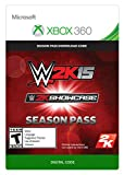 WWE 2K15 Showcase Season Pass - Xbox 360 Digital Code