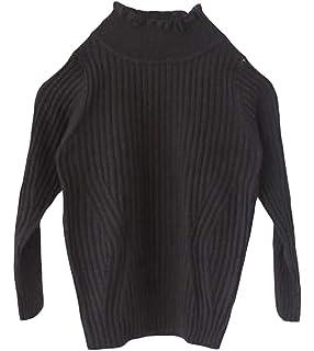 Wofupowga Girl Warm Jumper Pullover Cute Turtleneck Winter Sweater