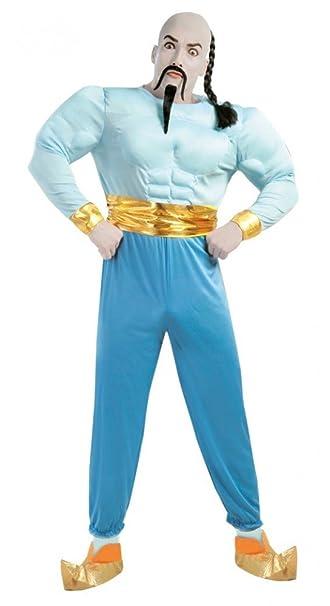 Muskuloser Flaschengeist Herren Kostum Aladin Tausendundeine Nacht
