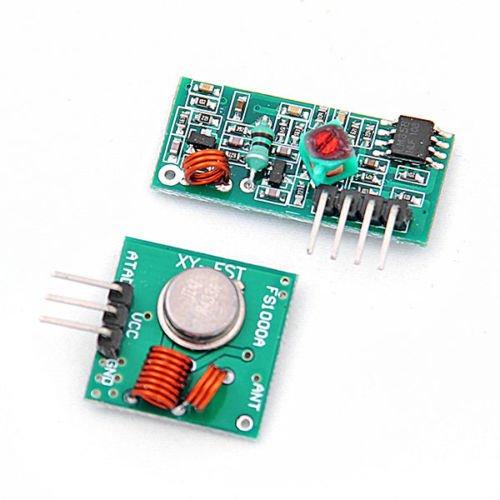Kabellos 433 Mhz RF Sender Empfä nger Receiver Module Arduino Wireless Transmitter Set Unknown