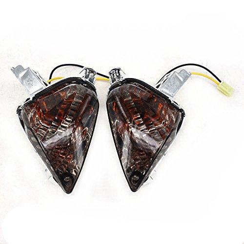 Black Front Turn Signals Blinker Light Lamp Indicator For SUZUKI GSXR600 GSXR750 2008-2010 GSXR1000 2007-2008: