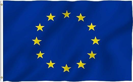 Anley Fly Breeze 90 x 150 cm Bandera Unión Europea - Colores Vivos ...