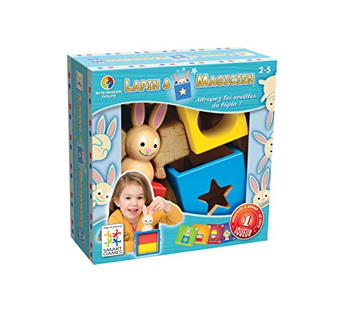 Smart-Games-Bunny-Boo-juego-de-ingenio-de-madera-con-retos-progresivos-SG017