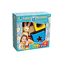 Smart Games Bunny Peek-a-Boo Multi-Level Logic Game (French Language Version)