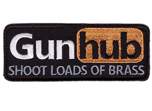 Hook Gun Hub Funny 2A 2nd Amendment Tactical Bag Cap Morale
