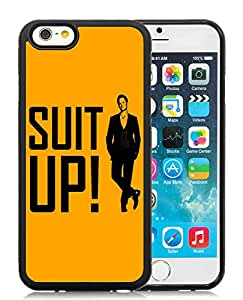 Personalized Shut Up HIMYM Black TPU Phone Case for iPhone 6 4.7 Inch