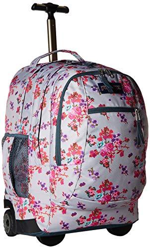 JanSport Driver 8 Core Series Wheeled Backpack, Primavera Fields