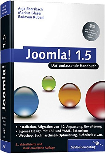Joomla!: Das umfassende Handbuch (Galileo Computing) Gebundenes Buch – 28. November 2008 Anja Ebersbach Markus Glaser Radovan Kubani 3898428818