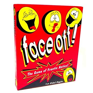 Face Off Card Game for Hilarious Family Game Night Fun and Zany Party Action