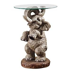 Design Toscano Good Fortune Elephant End Table