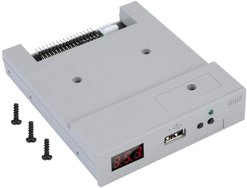 SFR1M44-U100 3.5in 1.44MB USB SSD Floppy Drive Emulator Built-in Memory Plug and Play for Industrial Control Device Sutinna USB Floppy Drive Emulator