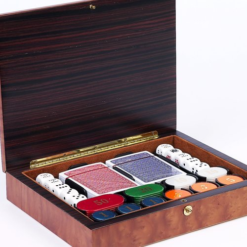 Bello Games Collezioni - Luca Poker Chips and Card Set from Italy by Bello Games New York, Inc.