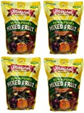 Mariani deNXRz Sun Ripened Mixed Fruit No Sugar Added Dried Fruit, 36 Ounce (4 Pack)