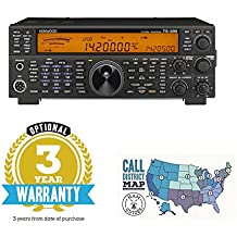 Bundle - 2 Items: Kenwood TS-590SG & Ham Guides TM Quick Reference Card - 3 Year Warranty