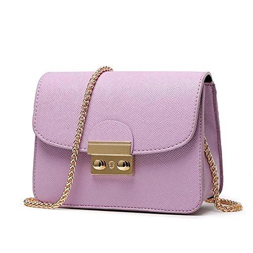 Aoligei Femme sac messenger sac chaîne de petit sac européenne et américaine mode sac de marée d'été B