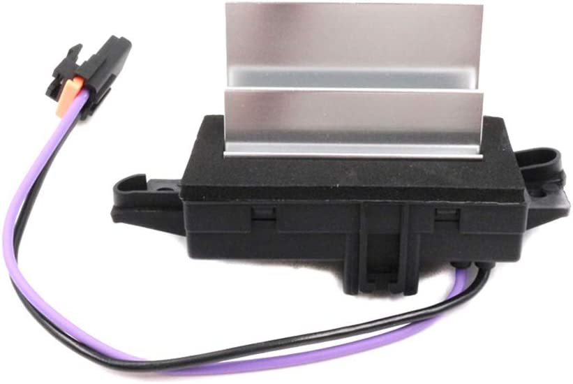 GMC Envoy Replaces # 4P1516 1580567 MT1805 RU-631RU-631 Cadillac Escalade Chevy Avalanche Silverado Suburban HVAC Blower Motor Resistor AC Blower Control Module for Buick Rainier