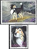 Denmark-Faroe Islands 262-263 (complete.issue.) 1994 Sheepdogs (Stamps for collectors)