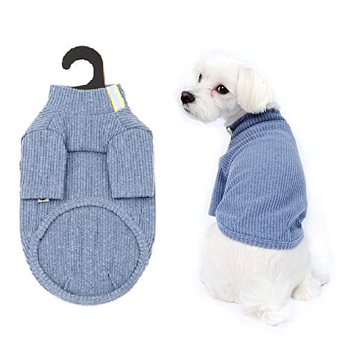 - DoggieWork Comfort Pet Normal& Standard Look Collections - Inside and Outside Outfit, Dog Sweater, Sweatshirt, Scarf, Hair Clips, Throw Blanket or Unisex Shirt, Big Dog Stretch Outfit (3XL, Blue)