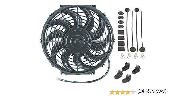 American Volt 12 V - Ventilador de refrigeración de radiador ...
