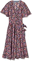 Jonathan Cohen Deconstructed Floral Quilt Faux Wrap Dress