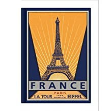 Paris Vintage Galore Collection Lined Notebook: Vy8636