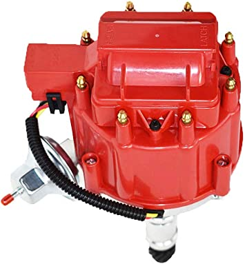 [SCHEMATICS_4FR]  Amazon.com: A-Team Performance HEI Distributor 65K Volt Coil Compatible  With Buick Big Block BB 400 430 455 One Wire Installation Red Cap:  Automotive | Wiring A Coil For A 1968 Buick 350 |  | Amazon.com