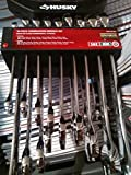 Husky 18-Piece 0.25 in. Mixed Combination Wrench Set