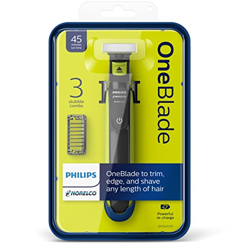 philips norelco oneblade hybrid electric trimmer and. Black Bedroom Furniture Sets. Home Design Ideas