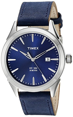 Collection Analog (Timex Men's TW2P77400AB City Collection Analog Display Quartz Blue Watch)