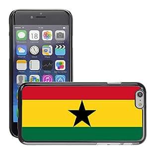 "GoGoMobile Slim Protector Hard Shell Cover Case // V00001065 ghana National Country Flag // Apple iPhone 6 4.7"""