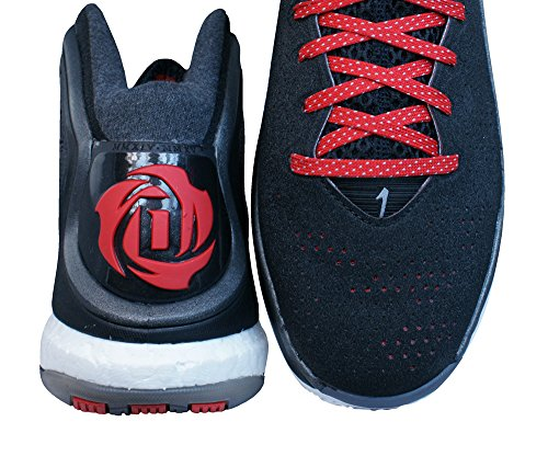 Adidas performance Derrick Rose 5 Boost Chaussures de Basketball Noir Rouge pour homme torsion System