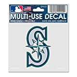 "MLB Seattle Mariners 84468010 Multi-Use Decal, 3"" x 4"""