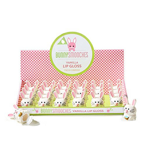 Two's Company Easter Bunny Smooches Vanilla Lip gloss - Set of 2 (Two (Company Bunny)