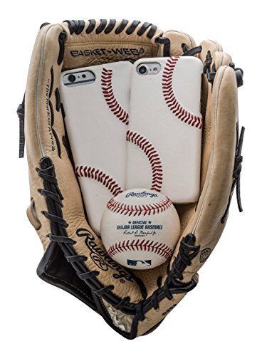 Leather Baseball Cell Case - 3