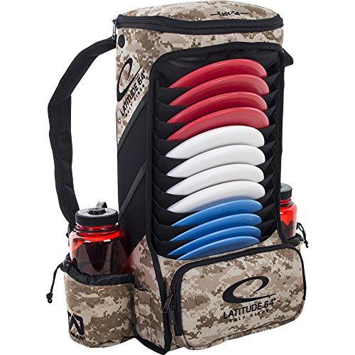 Latitude 64 Easy-Go Backpack Disc Golf Bag (Digital Camo) by Latitude 64