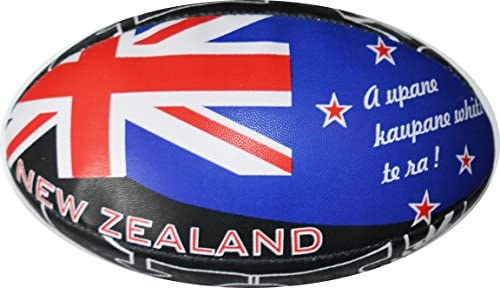 Balón de Rugby New Zealand – Colección Supporter – Nueva Zelanda ...