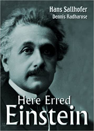 Here Erred Einstein